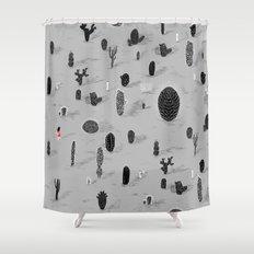 Cactarium Shower Curtain