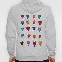 Multiple HEARTS Hoody