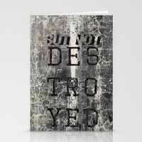 But Not Destroyed Stationery Cards