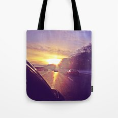 Sunset Blv. Tote Bag