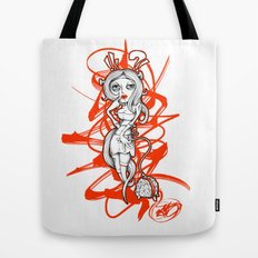 Barbie Zombie Tote Bag