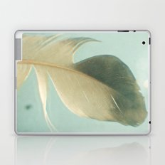 Grey Feather Laptop & iPad Skin