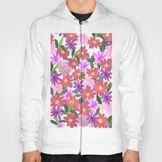 Flower Design Hoody