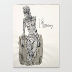 Mummy mummy Canvas Print