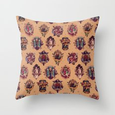 All Those Bright and Shining Companions Throw Pillow