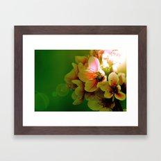 Flora Framed Art Print