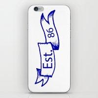 Est. 86 iPhone & iPod Skin