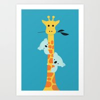 I'll be your tree Art Print