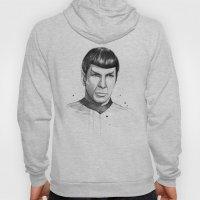 Spock Watercolor Portrai… Hoody