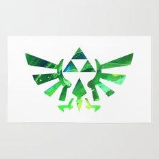 The Legend of Zelda Triforce Green Rug