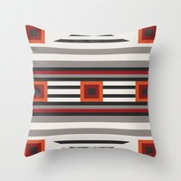 South of West Throw Pillow