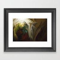 Holy Vision Framed Art Print