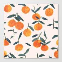 Clementines Canvas Print
