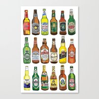 Have a beer! Canvas Print