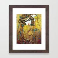 poupoupidou Framed Art Print