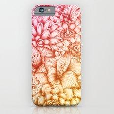 Tropical Flowers II Slim Case iPhone 6s