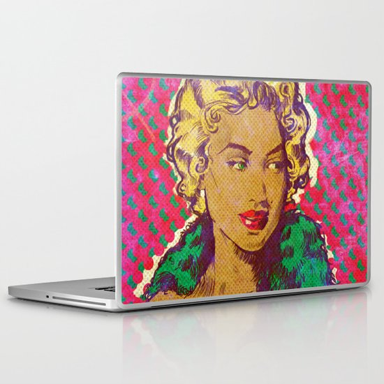 Bombshell Laptop & iPad Skin