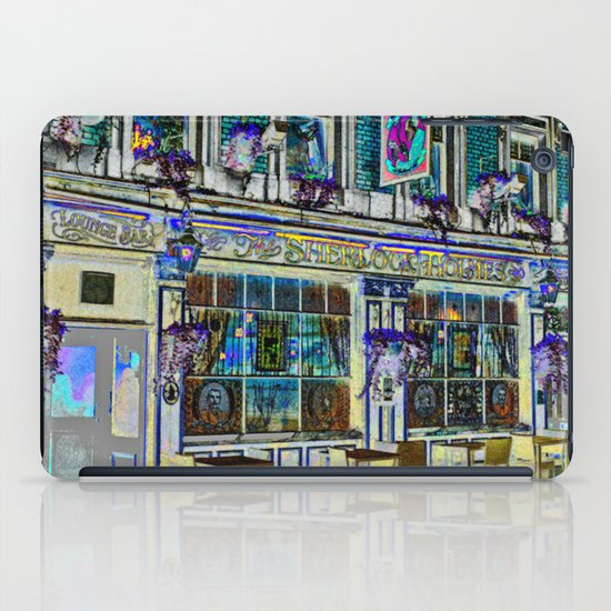 The Sherlock Holmes Pub London iPad Case
