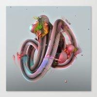 Equaliser Canvas Print