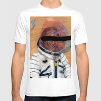 Spaceman No:2 Mens Fitted Tee White SMALL
