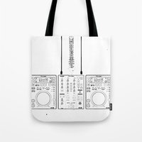 The Pioneer (CDJ Quick C… Tote Bag