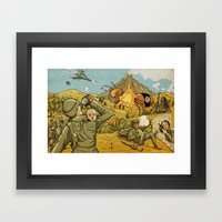 #ISIS #ISIL #IS #WHATEVE… Framed Art Print