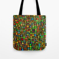 Colorful Dots Tote Bag