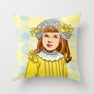 Throw Pillow featuring Golden Rod by Art Of Tom Tierney