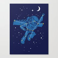 Universal Star Canvas Print