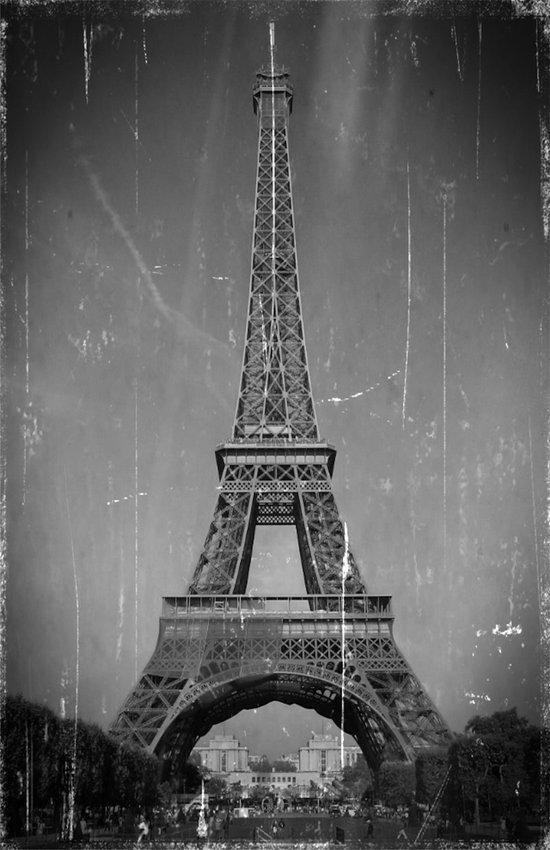 Vintage Eiffel Tower Art Print