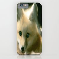 BLUE EYED FOX iPhone 6 Slim Case