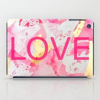 LOVE Abstract iPad Case