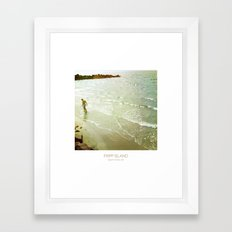 Fishing - Fripp Island South Carolina Framed Art Print