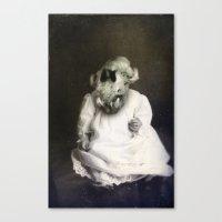 Aleister Canvas Print