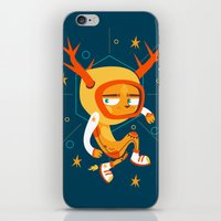 Space Deer iPhone & iPod Skin