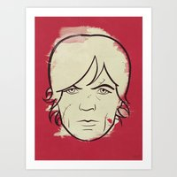 Tyrion Lannister - Game … Art Print