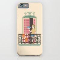 Reading in Barcelona iPhone 6 Slim Case