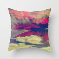 Signs in the Sky Collection - Visions Throw Pillow