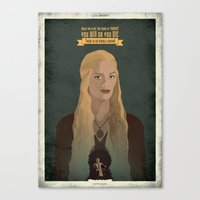 Game Of Thrones - You Wi… Canvas Print