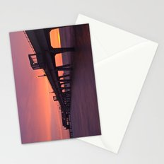Sunrise at Deal Pier Stationery Cards