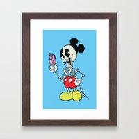 Mickey Bones Framed Art Print