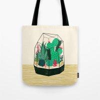 Terrarium - Geodesic Pla… Tote Bag