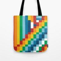 Fuzzline #5 Tote Bag