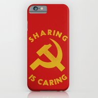 Sharing Is Caring iPhone 6 Slim Case