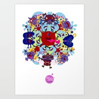 How to Tie Yourself into Knots! Art Print