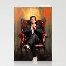 Sitting Benedict Stationery Cards