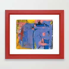 Pain Tub Framed Art Print