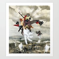 Mingadigm | Let There Be Light (XL) Art Print