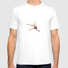 Water White Mens Fitted Tee SMALL