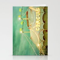 Circus II Stationery Cards